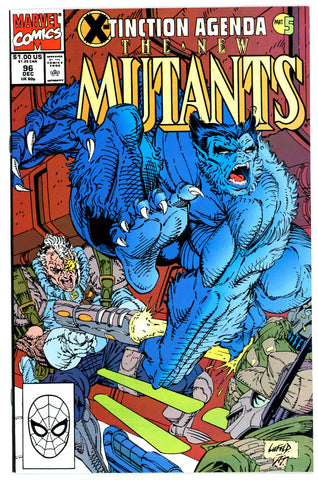 New Mutants #96 NEAR MINT-