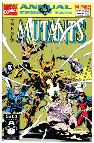 New Mutants Annual #7  NEAR MINT-