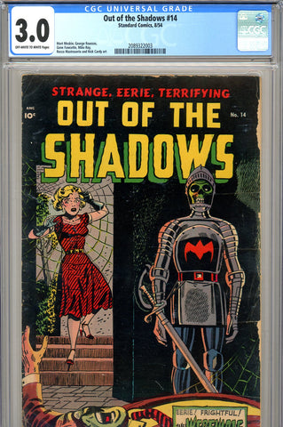 Out of the Shadows #14 CGC graded 3.0 last issue
