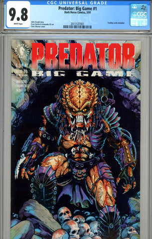 Predator Big Game #1 CGC graded 9.8 HIGHEST GRADED SOLD!