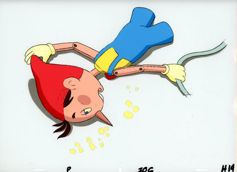 "Original production cel -""Pinocchio""- by Golden Films 167 LARGE"