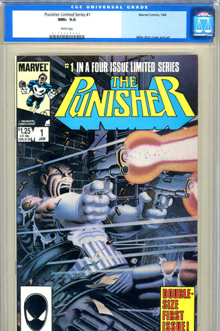 Punisher Limited Series #1 CGC graded 9.6 - SOLD!