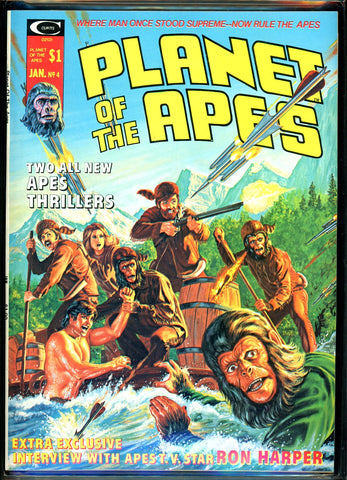 Planet of the Apes #04 CGC graded 9.8 HIGHEST GRADED white pages  SOLD!