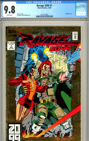 Ravage 2099 #01 CGC graded 9.8 HIGHEST GRADED - SOLD!