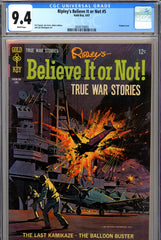 Ripley's Believe It or Not #05 CGC graded 9.4 white pages