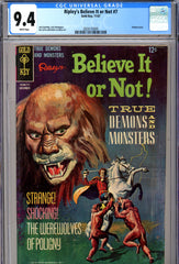 Ripley's Believe It or Not #07 CGC graded 9.4 HIGHEST GRADED