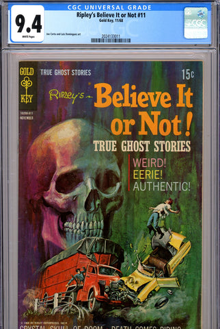 Ripley's Believe It or Not #11 CGC graded 9.4 white pages