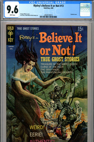 Ripley's Believe It or Not #13 CGC graded 9.6 HIGHEST GRADED SOLD!