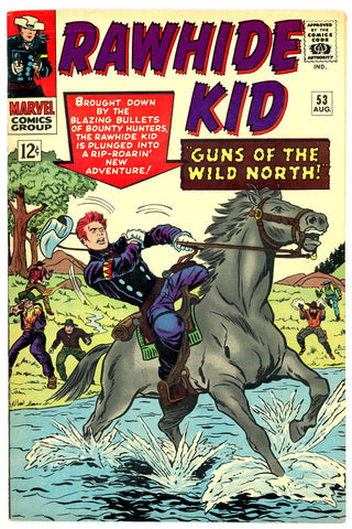 Rawhide Kid #53   VERY FINE+   1966