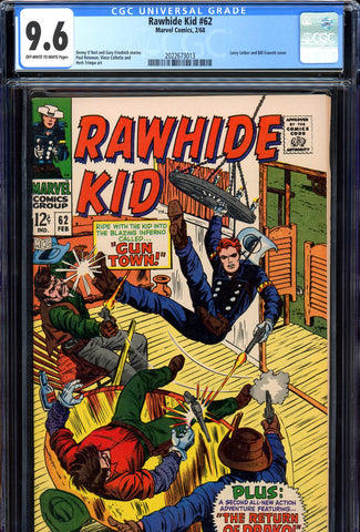 Rawhide Kid #62 CGC graded 9.6 HIGHEST GRADED - SOLD!