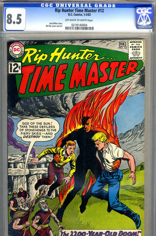 Rip Hunter, Time Master #12   CGC graded 8.5 - SOLD