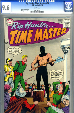 Rip Hunter, Time Master #26   CGC graded  HIGHEST - SOLD!