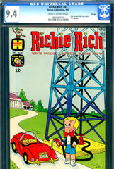 Richie Rich #61 CGC graded 9.4 - calendar included