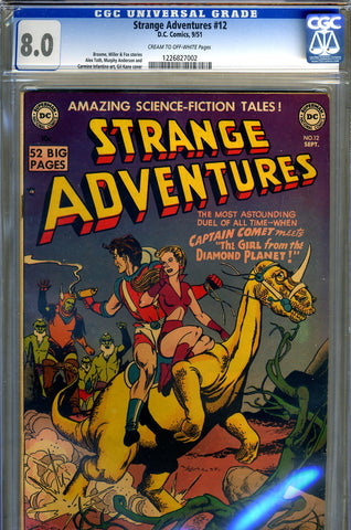 Strange Adventures #012   CGC graded 8.0 - Comet cover- SOLD!