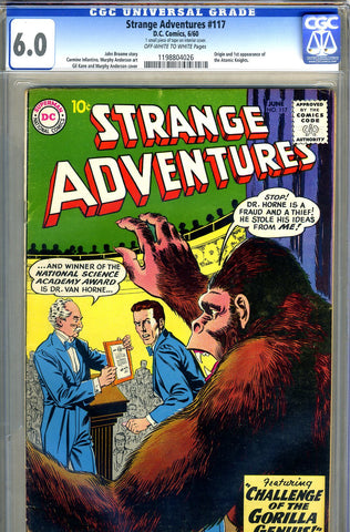 Strange Adventures #117   CGC graded 6.0 - first Atomic Knights - SOLD!