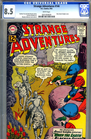 Strange Adventures #144   CGC graded 8.5 - ONLY Atomic Knights cover - SOLD