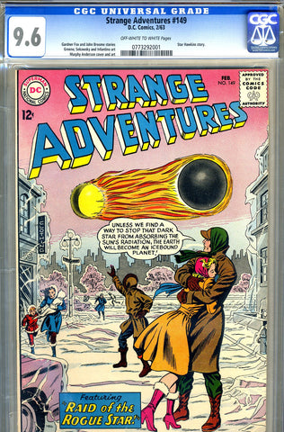 Strange Adventures #149   CGC graded 9.6 - HIGHEST GRADED - SOLD!