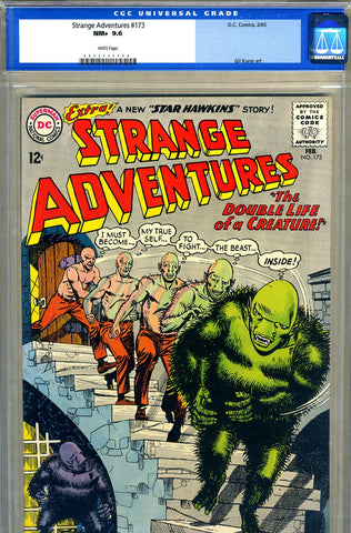 Strange Adventures #173   CGC graded 9.6 - white pages - SOLD!