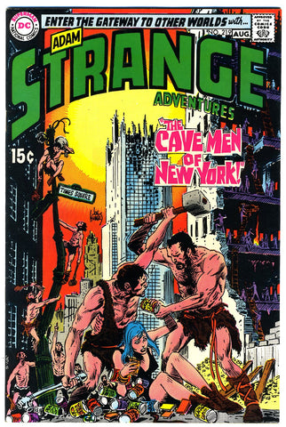 Strange Adventures #219   VF/NEAR MINT   1969