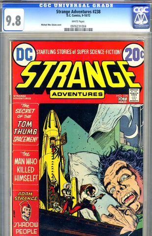 Strange Adventures #238   CGC graded 9.8 - SOLD