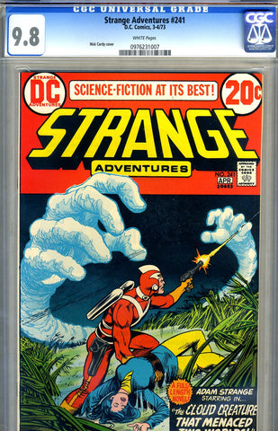 Strange Adventures #241   CGC graded 9.8 - HIGHEST GRADED - SOLD!