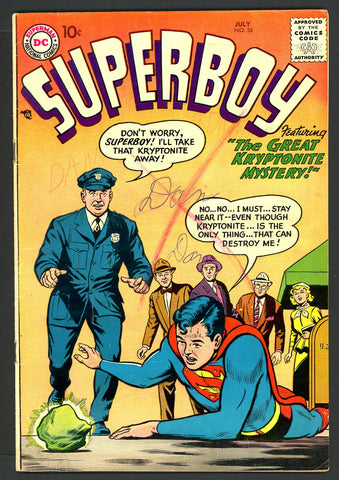 Superboy #058   VERY GOOD+  1957
