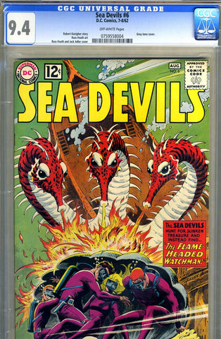 Sea Devils #06   CGC graded 9.4 - SOLD
