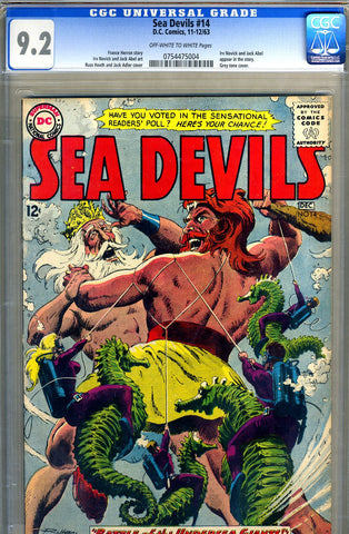 Sea Devils #14   CGC graded 9.2 - SOLD