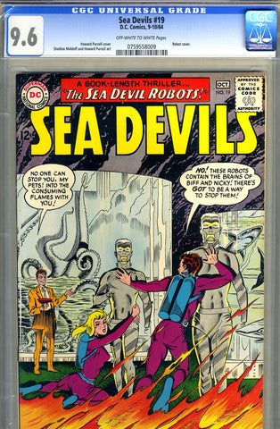 Sea Devils #19   CGC graded 9.6 - SOLD!