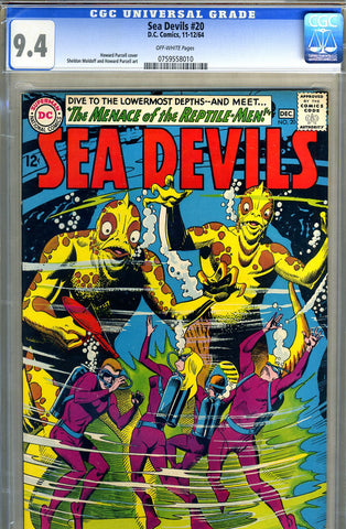 Sea Devils #20   CGC graded 9.4 - SOLD