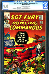 Sgt. Fury #19 CGC graded 9.0 - Jack Kirby cover