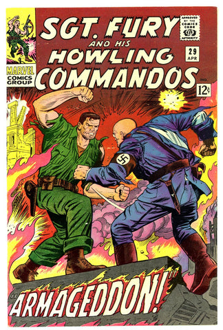 Sgt. Fury #29   VF/NEAR MINT   1966