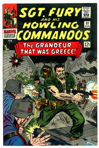 Sgt. Fury #33   VF/NEAR MINT   1966