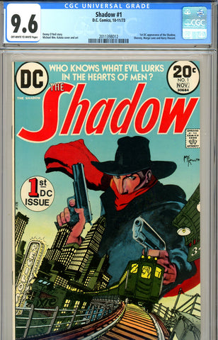 Shadow #1 CGC graded 9.6