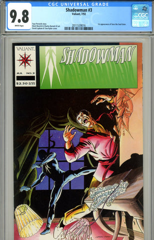 Shadowman #03   CGC graded 9.8 HIGHEST GRADED