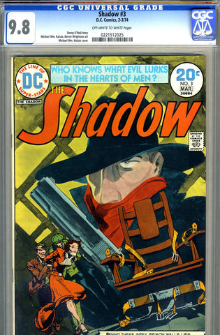 Shadow #3   CGC graded 9.8 - HIGHEST GRADED - SOLD!