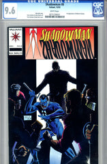 Shadowman #08   CGC graded 9.6 - first Master Darque