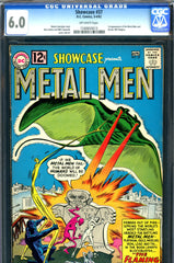 Showcase #37 CGC graded 6.0 - first Metal Men