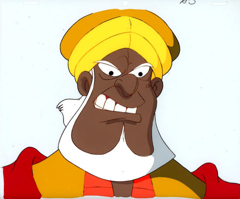 "Original production cel -""Sinbad""- by Golden Films 077"