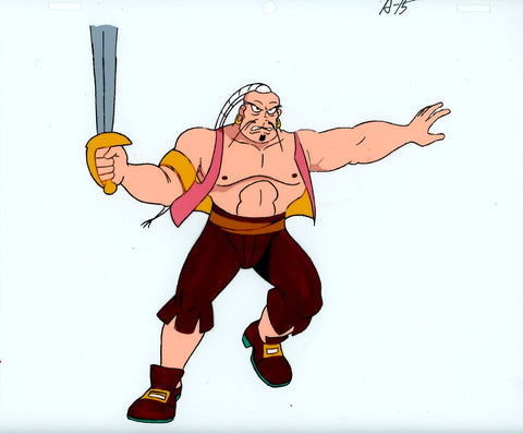 "Original production cel -""Sinbad""- by Golden Films 093"