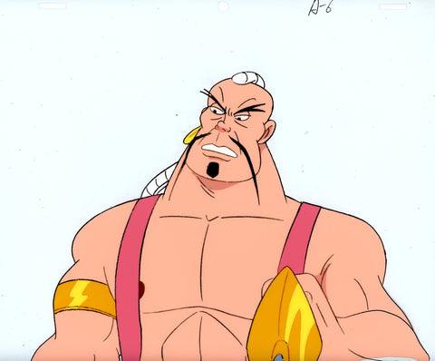 "Original production cel -""Sinbad""- by Golden Films 094"