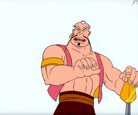 "Original production cel -""Sinbad""- by Golden Films 095"