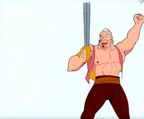 "Original production cel -""Sinbad""- by Golden Films 097"