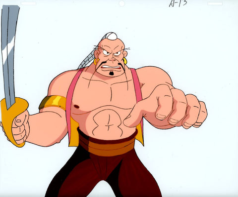 "Original production cel -""Sinbad""- by Golden Films 098"