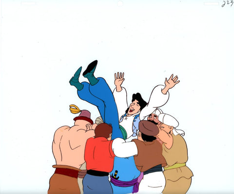 "Original production cel -""Sinbad""- by Golden Films 119"