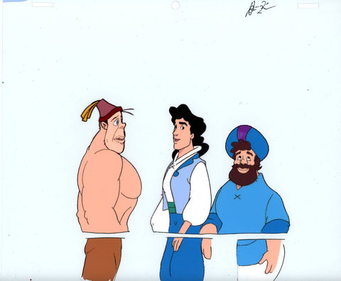 "Original production cel -""Sinbad""- by Golden Films 126"