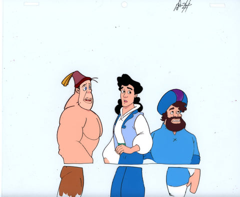 "Original production cel -""Sinbad""- by Golden Films 128"