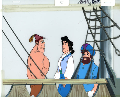 "Original production cel -""Sinbad""- by Golden Films 132"