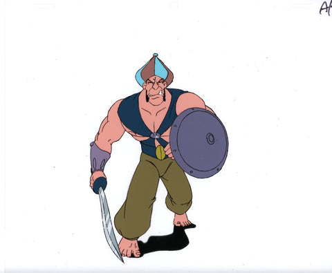 "Original production cel -""Sinbad""- by Golden Films 162"
