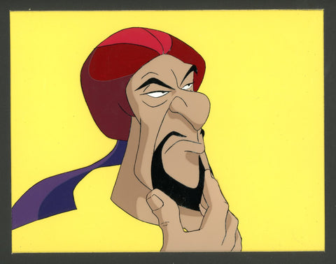 "Original production cel -""Sinbad""- by Golden Films 314 MATTED"